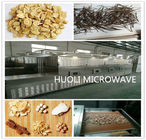 Stainless Steel Microwave Drying Machine Herbal Sterilization In Pharmaceutical Industry
